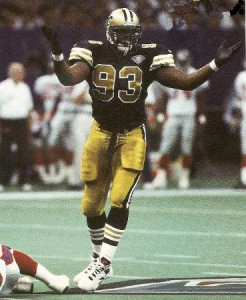 Wayne Martin New Orleans Saints 1994