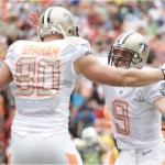 Drew Brees, Jimmy Grahm 2014 NFL Pro Bowl