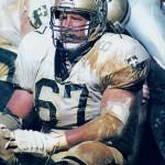Saints Offensive Lineman Stan Brock