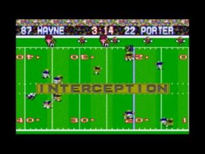 Tracy Porter's Super Bowl 44 Interception – Tecmo Style