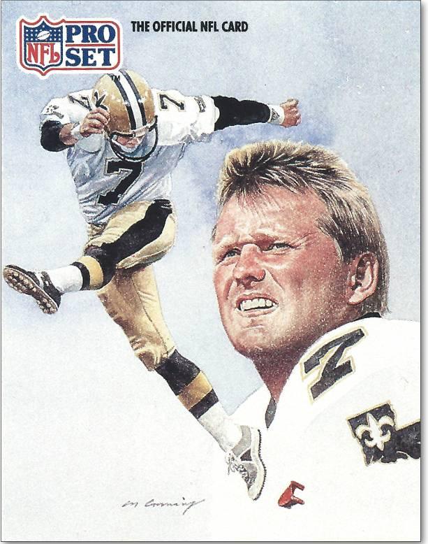 Morten Andersen 1991 Pro Set Card