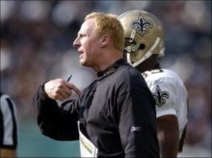 Saints Head Coach Jim Haslett