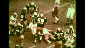 Saints and 49ers 1969 NFL Game of the Week
