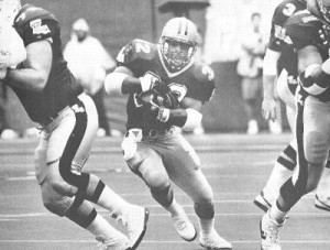 Leading Rusher for the 1992 New Orleans Saints, Vaughn Dunbar.
