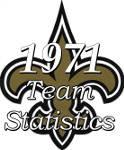 1971 New Orleans Saints Statistics