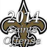 The 2014 New Orleans Saints Offense