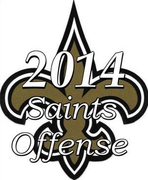 2014 New Orleans Saints Offense