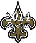 New Orleans Saints 2014 NFL Season Team Roster