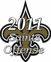 2011 New Orleans Saints Offense