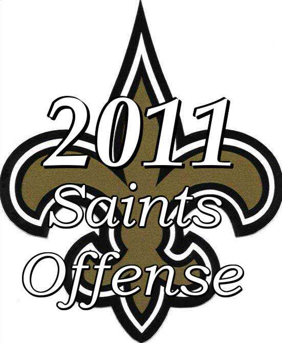 The 2011 New Orleans Saints Offense