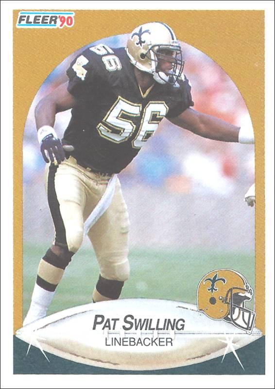 Pat Swilling 1990 Fleer