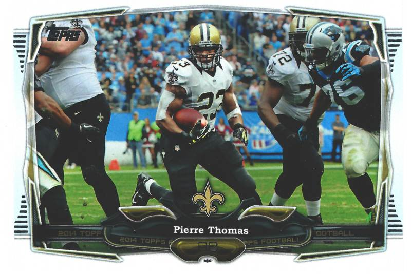 Pierre Thomas. A Story From Who Dat? To Who Dat!