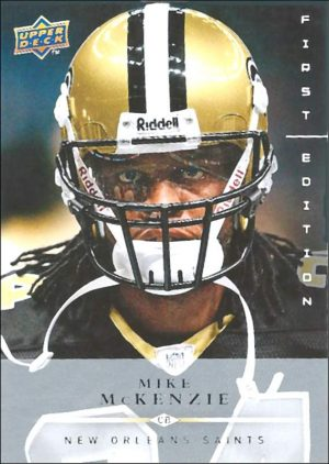 Mike McKenzie 2008 Upper Deck