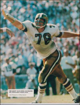 Dave Rowe 1967 New Orleans Saints