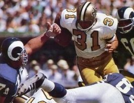 Jim Taylor 1967 Saints and Rams
