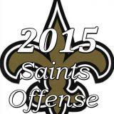 2015 New Orleans Saints Offense
