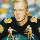 A portrait of New Orleans Saints player Dave Whitsell