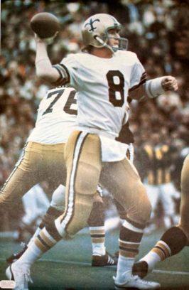 Archie Manning New Orleans Saints Quarterback