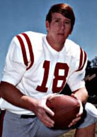 Archie Manning as an Ole Miss Rebel