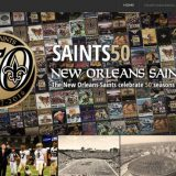 The Saints Celebrate 50 Years With Saints50.com