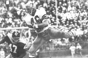 Danny Abramowicz 1967 New Orleans Saints Rookie Receiver