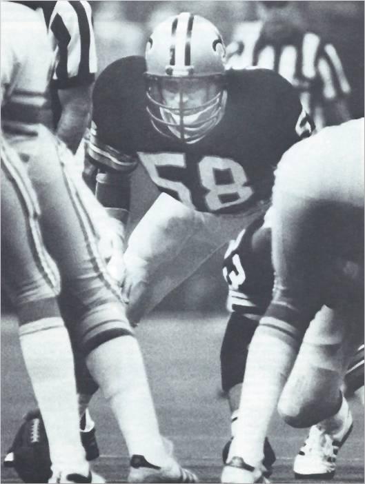 Joe Federspiel, Saints Middle Linebacker