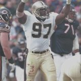 La' Roi Glover of the New Orleans Saints during the 2000 NFL Season