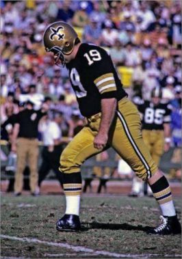 Saints Kicker Tom Dempsey 1969-1970