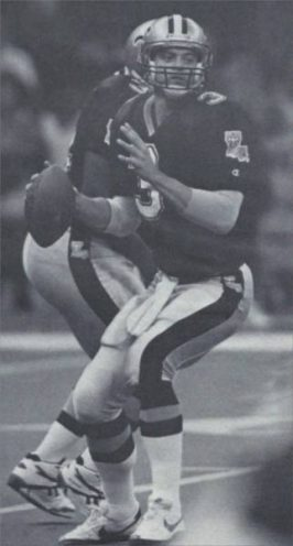 Bobby Hebert, The Cajun Cannon in 1992