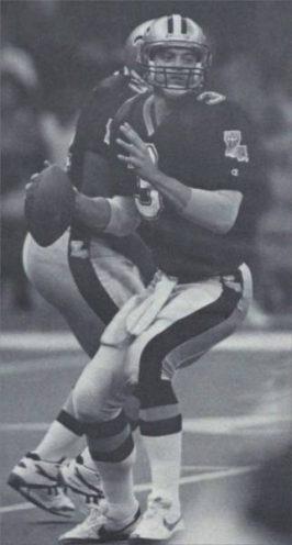Bobby Hebert, The Cajun Cannon in 1992