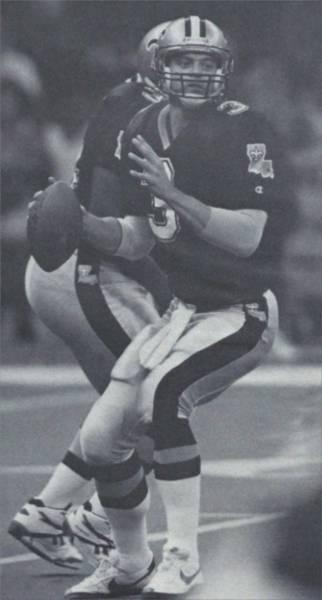 The Cajun Cannon Bobby Hebert in 1992