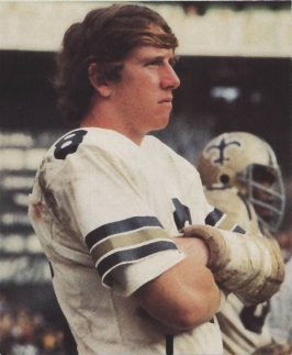 A Young Archie Manning Looks on from the Sidelines