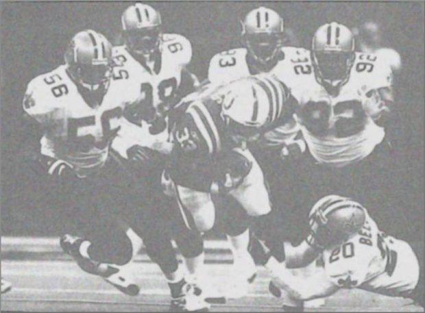 2001 New Orleans Saints Defense against Indianapolis Colts