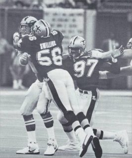 Pat Swilling and Renaldo Turnball 1991 New Orleans Saints