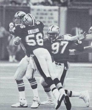 Pat Swilling and Renaldo Turnball – 1991 New Orleans Saints