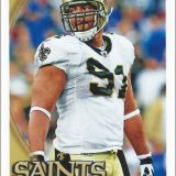 Will Smith 2010 New Orleans Saints Topps Card