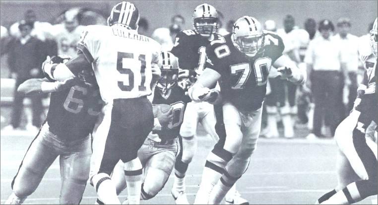 1986 New Orleans Saints Offense vs Washington