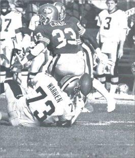 Frank Warren 1988 New Orleans Saints
