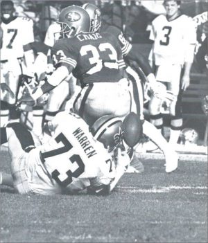 Frank Warren – 1988 Saints Defense