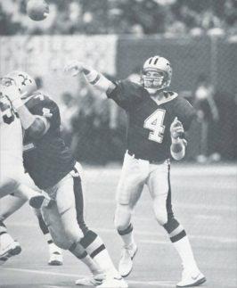 Saints Quarterback Steve Walsh