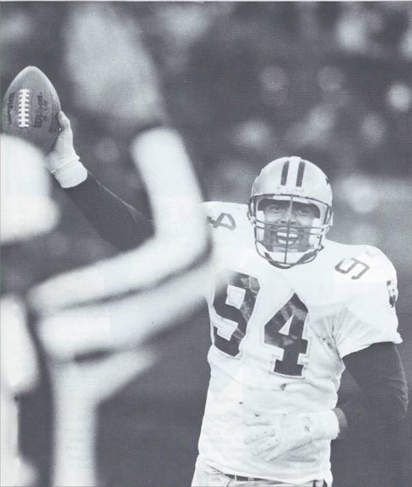 Jim Wilks New Orleans Saints Defensive End - 1987