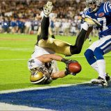 Lance Moore's famous 2-point play in Super Bowl 44