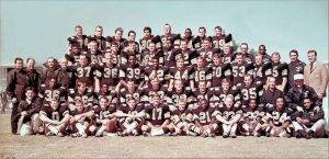 The Team Photo of the 1967 New Orleans Saints
