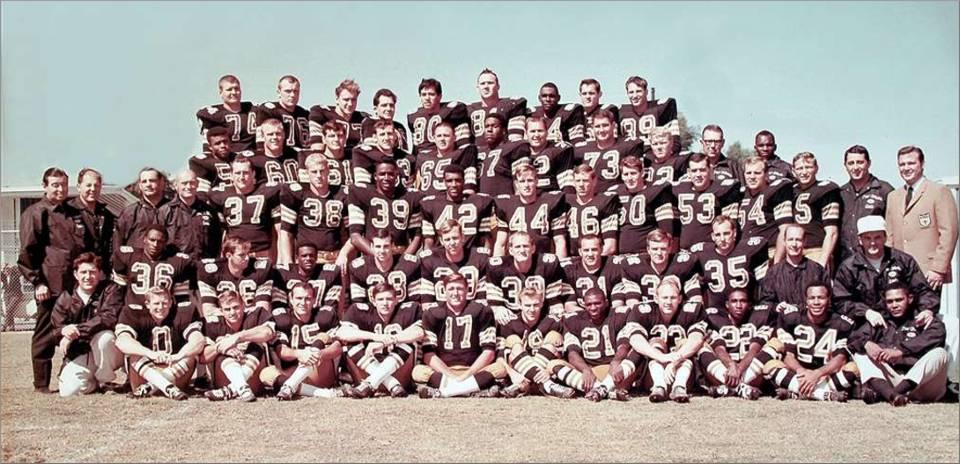 The 1967 New Orleans Saints Team Photo