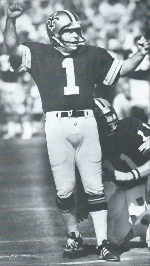 Garo Yepremian – New Orleans Saints Kicker in 1979.