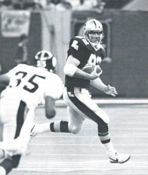 John Tice, Tight End of the New Orleans Saints
