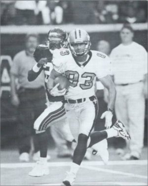New Orleans Saints receiver Keith Poole in 1998