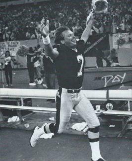 Morten Andersen after winning field goal against Cowboys 1988