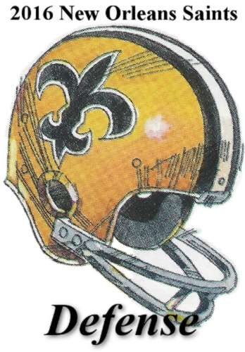 2016 New Orleans Saints Defensive Statistics