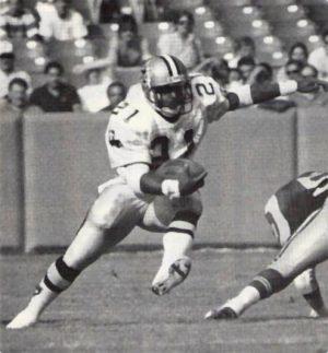 New Orleans Saints Runner Dalton Hilliard